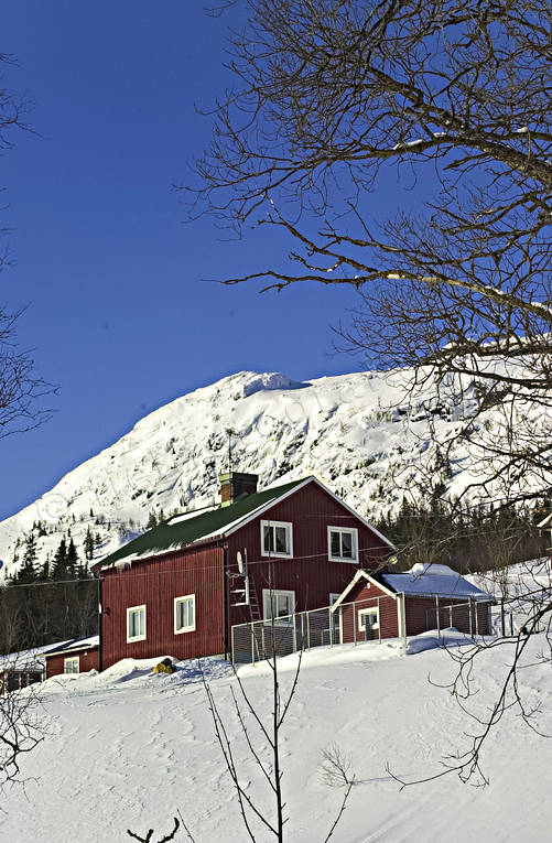 Almdalen, buildings, fjällägenhet, installations, Jamtland, mountain farm, hill farm