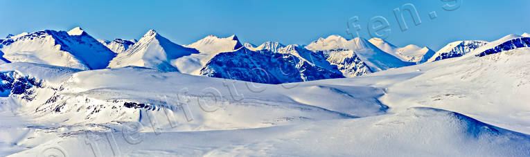 aerial photo, aerial pictures, alpine area, drone aerial, landscapes, Lapland, mountain peaks, mountain pictures, national parks, panorama, Sarek, Skårki, Vassapakte, winter