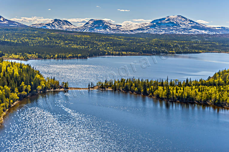 aerial photo, aerial photo, aerial photos, aerial photos, Ann lake, Bunnerviken, drone aerial, drönarfoto, Jamtland, landscapes, Snasa Mountains, Snasafjällen, summer, Swedish Mountains