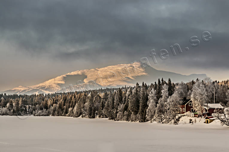 Areskutan, Edsåsdalen, Jamtland, landscapes, mountain, winter