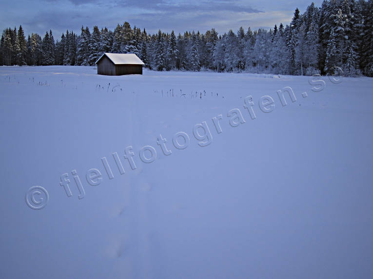 ambience, ambience pictures, atmosphere, barn, christmas ambience, christmas card, field, field, Jamtland, landscapes, snow, winter