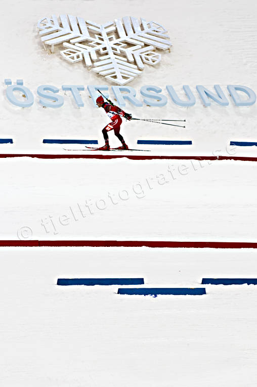 biathlon, competition, langlauf, Ostersund, shooting, skier, skies, skiing, sport, various, winter, world championship