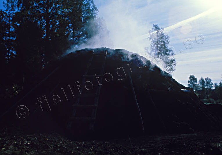 big forest, charcoal, charcoal, charcoal kiln, charcoal pit, forestry, wasteland, wilderness, woodland, work