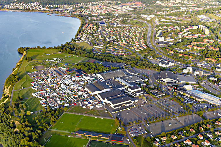 aerial photo, aerial pictures, attractions, drone aerial, Elmia, fair, fair ground, Jönköping, Småland, städer, summer