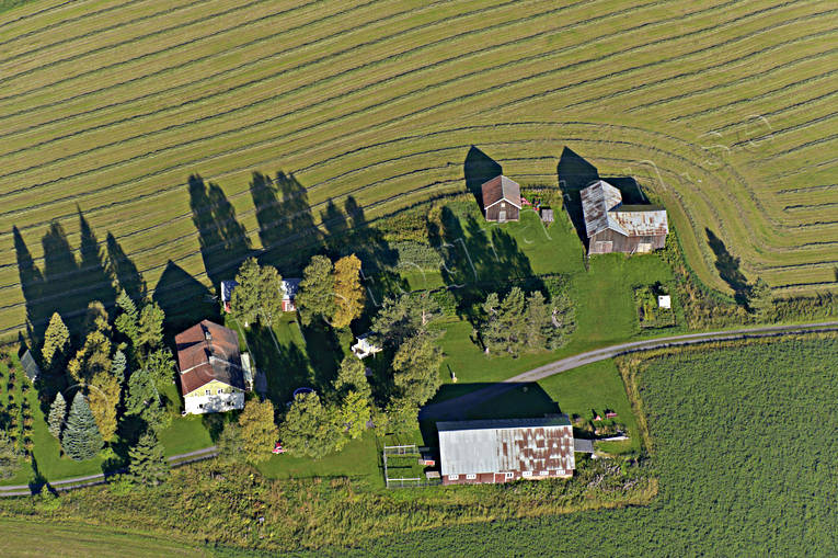 aerial photo, aerial pictures, drone aerial, farms, Jamtland, Lit, Smedsta, summer