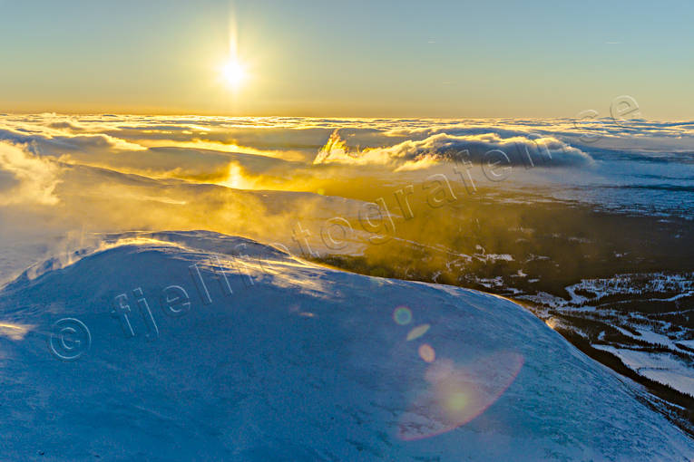 aerial photo, aerial photo, aerial photos, aerial photos, atmosphere, backlight, cloud, Drommen, drone aerial, drönarfoto, Jamtland, landscapes, season, seasons, sun, winter