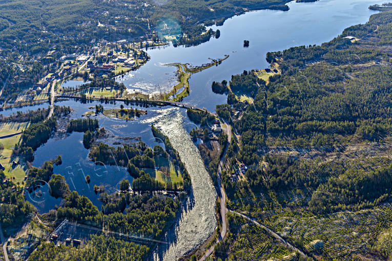 aerial photos, aerial picture, aerial pictures, Dalarna, flygbilder, Idre, samhällen, spring