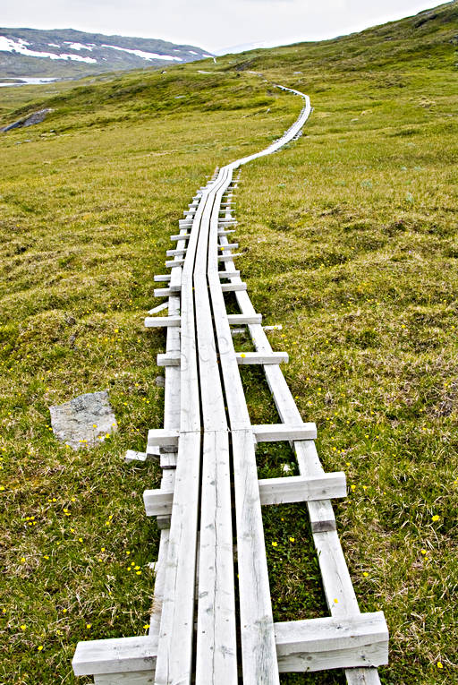 alpine hiking, back-packing, foot-bridged, footbridge, national park, national parks, nature trail, Padjelanta, summer, track, äventyr