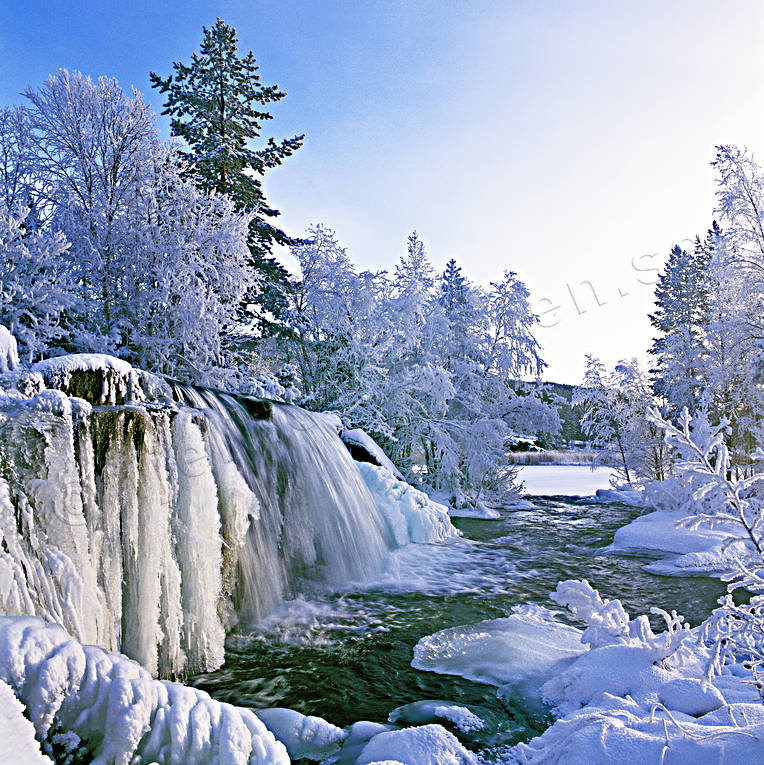 ambience, ambience pictures, atmosphere, canvastavla, christmas ambience, christmas card, Forsan, fototavla, frozen, hoarfrost, ice fall, Jamtland, season, seasons, tavla, water fall, winter