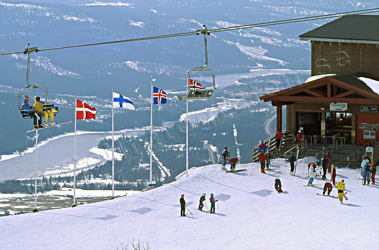 Are, Areskutan, down-hill running, funicular, gondola, gondola station, outdoor life, skies, skiing, slalom, vinter utförsåkning, wild-life, winter, äventyr