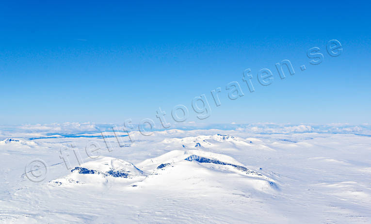 aerial photo, aerial pictures, drone aerial, Helags, Jamtland, Jämtlandsfjällen, landscapes, mountain, mountain spaces, sylarna, white, white, winter, winter mountains