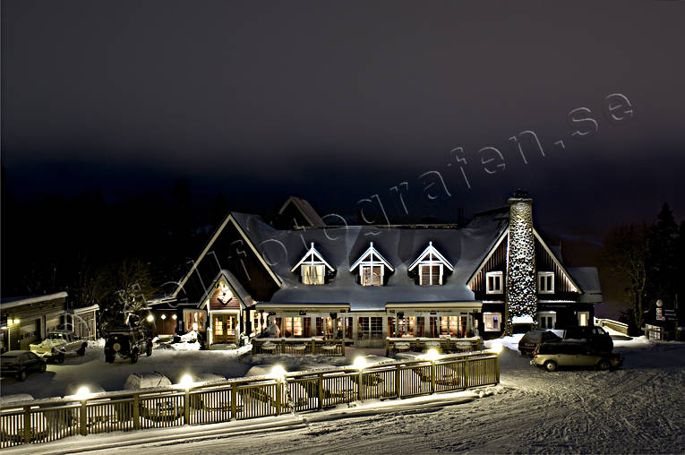 alpine farm, ambience pictures, Are, building, buildings, christmas ambience, evening, hotell, installations, Jamtland, raestaurang, samhällen
