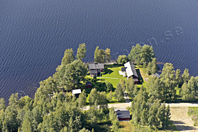 aerial photo, aerial pictures, cabins, drone aerial, farms, Jamtland, summer