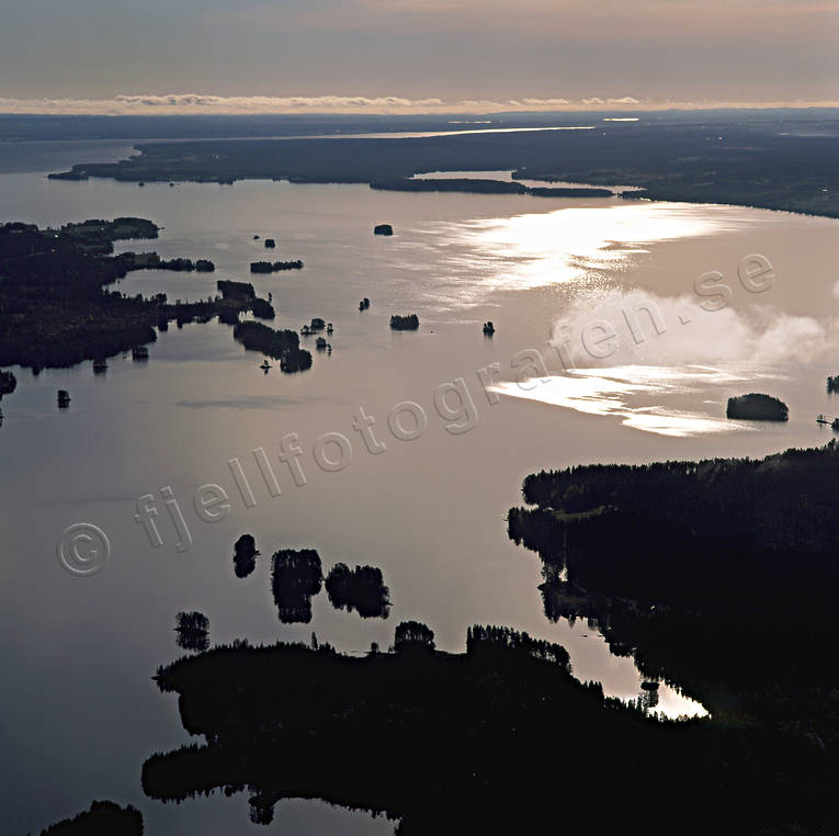 aerial photo, aerial photo, aerial photos, aerial photos, drone aerial, drönarfoto, Hallen, islands, islands, Jamtland, landscapes, summer, sunset, twilight, evening twilight, dusk