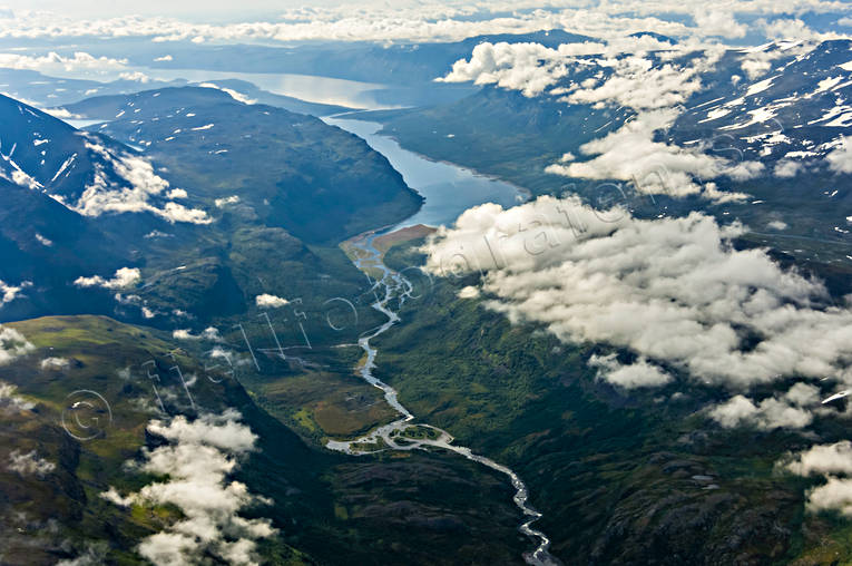 aerial photo, aerial pictures, Alddas, drone aerial, Kakirjaure, landscapes, Lapland, summer