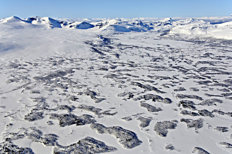 aerial photos, aerial picture, aerial pictures, fjällbilder, flygbilder, landscapes, Lapland, Swedish Mountains, winter
