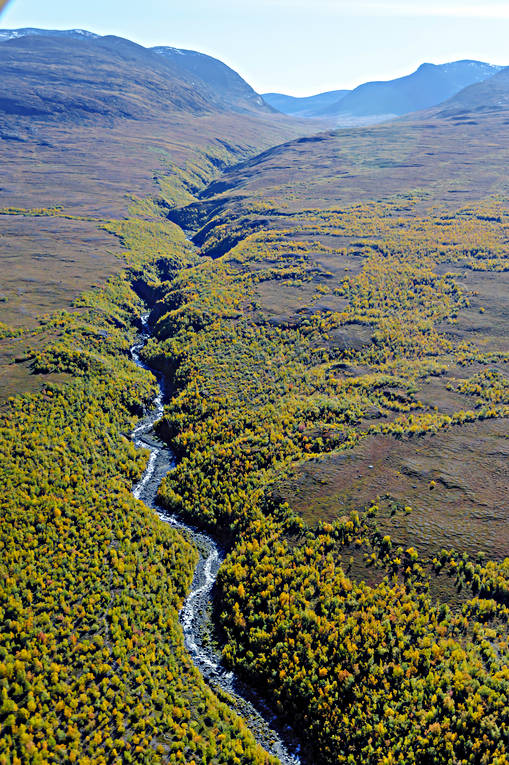 aerial photo, aerial pictures, autumn, drone aerial, landscapes, Lapland, mountain pictures