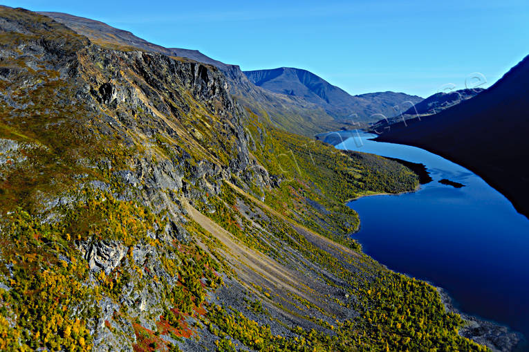 aerial photos, aerial picture, aerial pictures, autumn, flygbilder, landscapes, Lapland, mountain pictures