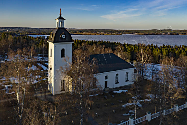 aerial photo, aerial photo, aerial photos, aerial photos, buildings, church, churches, drone aerial, drönarbild, drönarfoto, Jamtland, Lockne, spring, villages