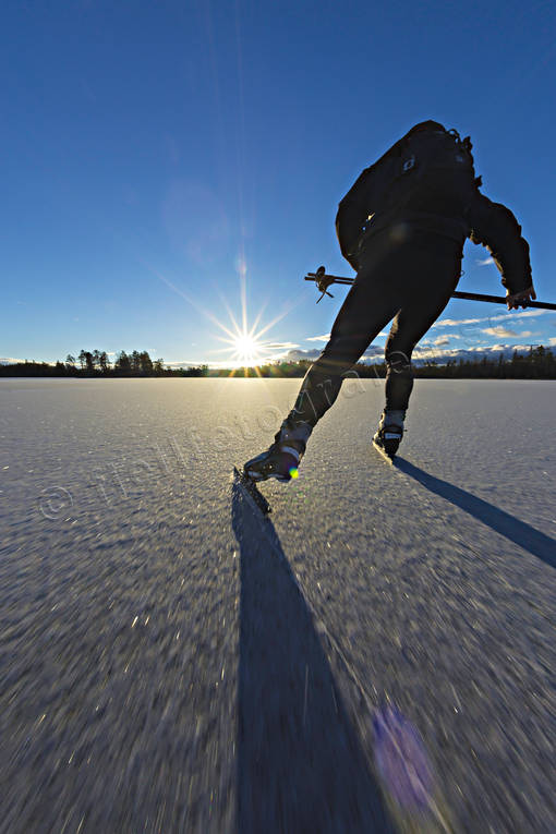 bay floe, Black Lakes, long-distance skating, novemberis, skate, skater, skating, winter, winter sport, äventyr