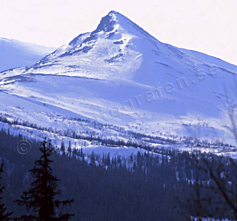 landscapes, Lapland, mountain, mountain top, winter