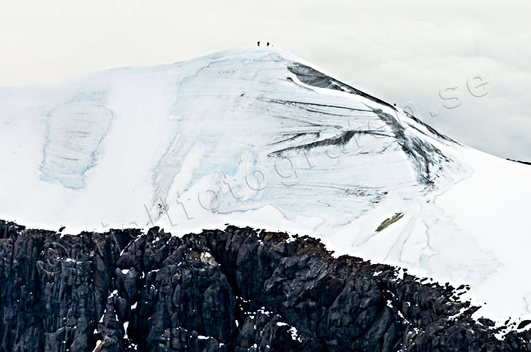 aerial photo, aerial pictures, ascendence, drone aerial, fjällbilder, glacier, glaciäris, ice, Kebnekaise, landscapes, Lapland, mount, mountain top, mountaineer, summer, Swedish Mountains, toppglaciär, wanderer, footer