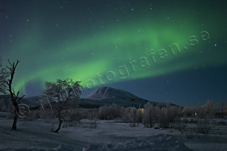 nature, Nikkaluokta, northern lights, polar lights, polar night, season, seasons, sky, winter