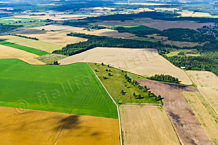 aerial photos, aerial picture, aerial pictures, arable land, crop land, cultivated land, farming lands, fields, flygbilder, Framnäs, landscapes, odlingslandskap, summer, Västergötland