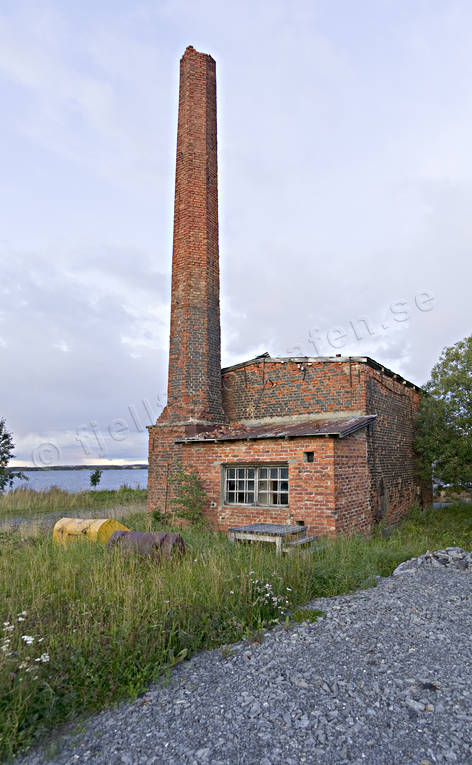 brick building, buildings, chimney, forestry, Jamtland, jarsta, sawmill, sow, steam driven, steam saw, steam sawmill, work