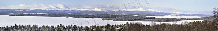 Great Lake, Jamtland, landscapes, mountain, Oviksfjallen, panorama, panorama pictures, view, winter