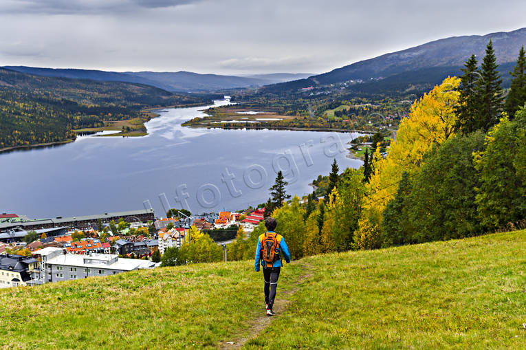 Are, Are lake, Are valley, autumn, Jamtland, landscapes, outdoor life, promenad, samhällen, sport