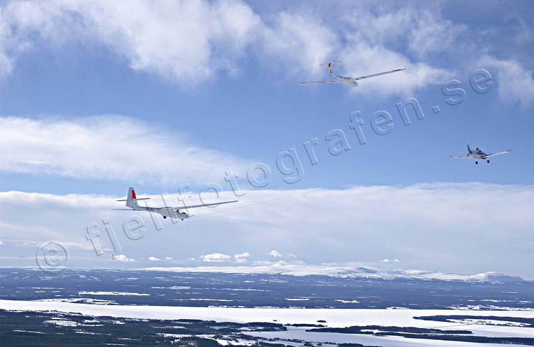 aeroplane, aviation, communications, fly, gliding, sky, tow, towing