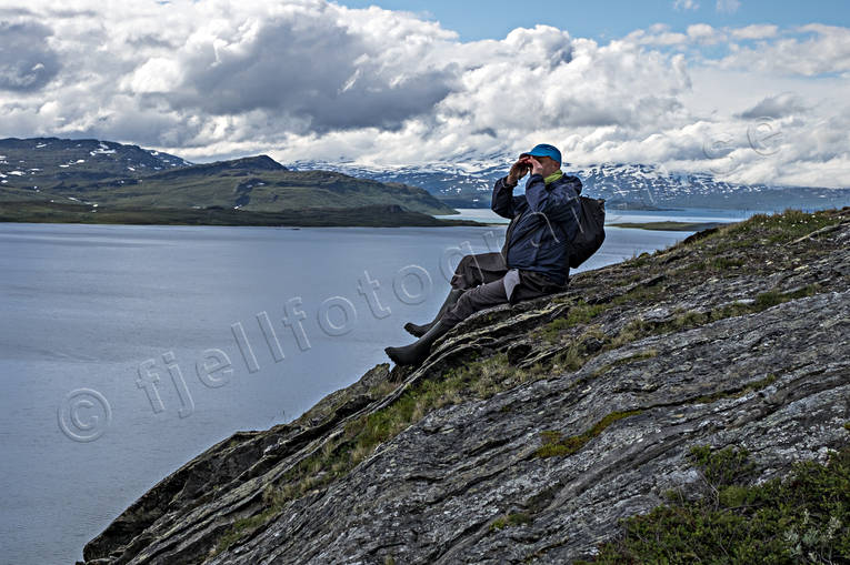 alpine hiking, alpine landscape, ambience, back-packer, lake, Lapland, Lapland North, mountain, mountain visit, mountains, national park, nature, outdoor life, Padjelanta, Padjelanta Nationalpark, sightings, Staloluokta, summer, Virihaure, wild-life