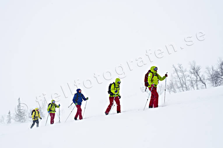 outdoor life, ski touring, skier, skiing, snow storm, sport, winter, äventyr