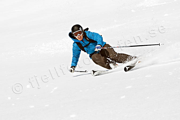 down-hill running, offpist, playtime, skier, skies, skiing, sport, winter
