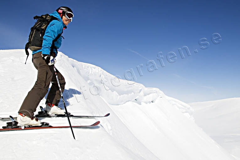 down-hill running, offpist, playtime, skier, skies, skiing, sport, view, winter
