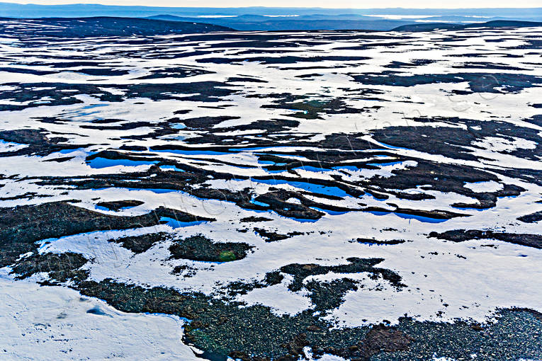 aerial photo, aerial pictures, alpine plateau, Dalarna, drone aerial, Fulufjället, geology, landscapes, mountain, national park, slukåsar, spring