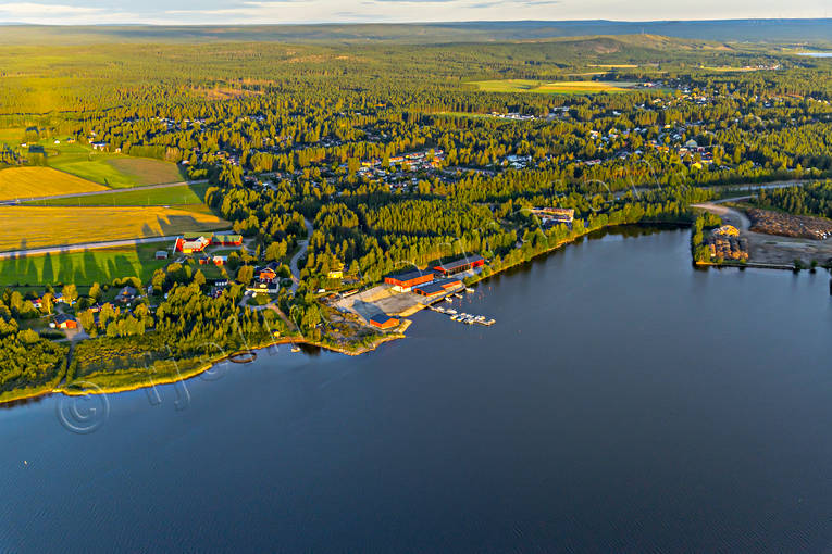 aerial photo, aerial pictures, drone aerial, Inrefjärden, landscapes, North Bothnia, Pitea, samhällen, small-boat harbour, Storfors, summer
