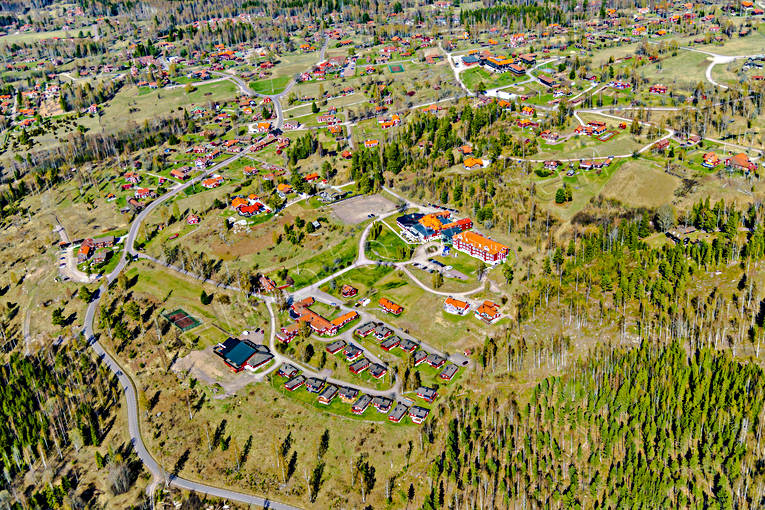 aerial photo, aerial pictures, Dalarna, Dalecarlia, drone aerial, hotell, konferenshotell, Quality Hotel, samhällen, spring, Tällberg