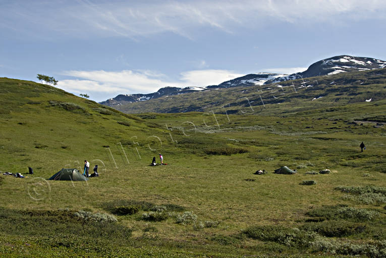 alpine hiking, national park, Padjelanta, summer, tent, tent camp, äventyr