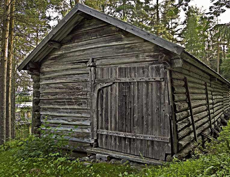 barn, buildings, door, hay barn, hembygdsmuseum, house, Lapland, native house, native farm, old, timber barn, timber building, timbered