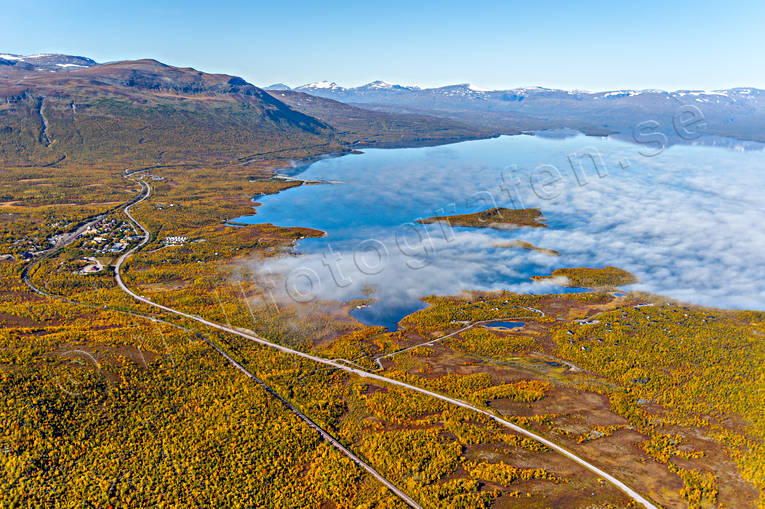 Abisko, aerial photos, aerial picture, aerial pictures, autumn, flygbilder, landscapes, Lapland, Swedish Mountains, torne trask