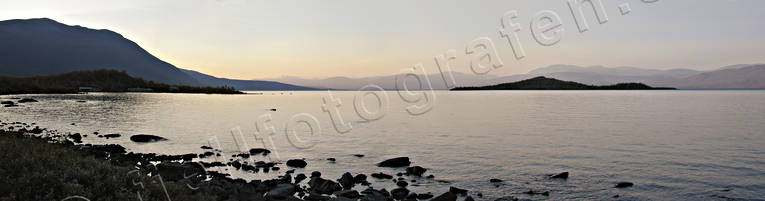 Abisko, evening, landscapes, Lapland, mountain, panorama, panorama pictures, summer, Torne Träsk