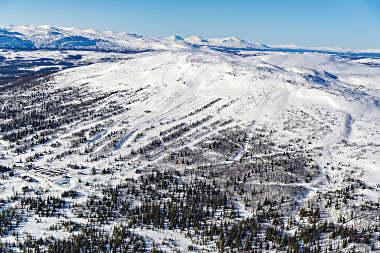 aerial photo, aerial photo, aerial photos, aerial photos, drone aerial, drönarfoto, installations, Jamtland, journeys down, landscapes, ski resort, ski resort, ski slopes, Trillevallen, winter