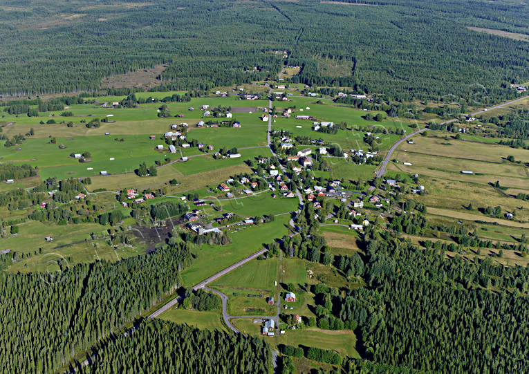 aerial photo, aerial pictures, cabins, drone aerial, farms, Jamtland, summer, Tullingsås