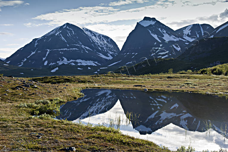 alpine, Kebnekaise, landscapes, Lapland, mountain, mountain, mountain peaks, mountain top, mountains, nature, summer, tuolpagorni