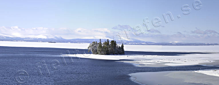 Great Lake, Jamtland, landscapes, Oviksfjallen, panorama, panorama pictures, Rodosundet, winter