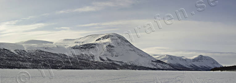 Ammarnas, landscapes, Lapland, mountain, panorama, panorama pictures, Tjultrasket, Vindel mountains, winter