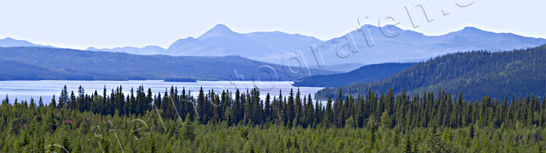 blue, blueing, lake, landscapes, Lapland, mountain, mountain, panorama, panorama pictures, summer, wasteland, wilderness, woodland
