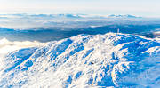 aerial photos, Are, Areskutan, drone aerial, Jamtland, landscapes, mountains, Snasa Mountains, top, top summit, winter